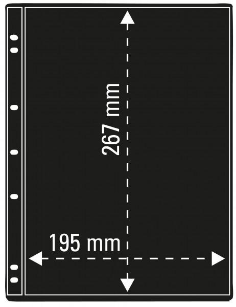 ProFil Albenblätter, schwarz