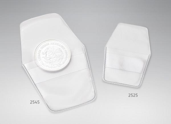 Münztäschchen für Münzen bis 45 mm, 100 Stück