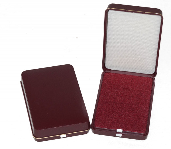 Patent-Etui 80 x 80 mm rot/rot