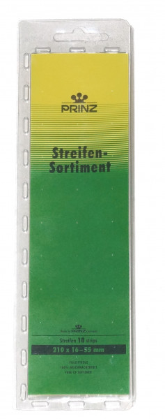 Streifensortiment, transparent