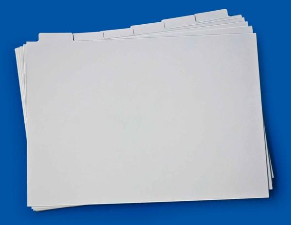 Registerkarten, 1 Satz