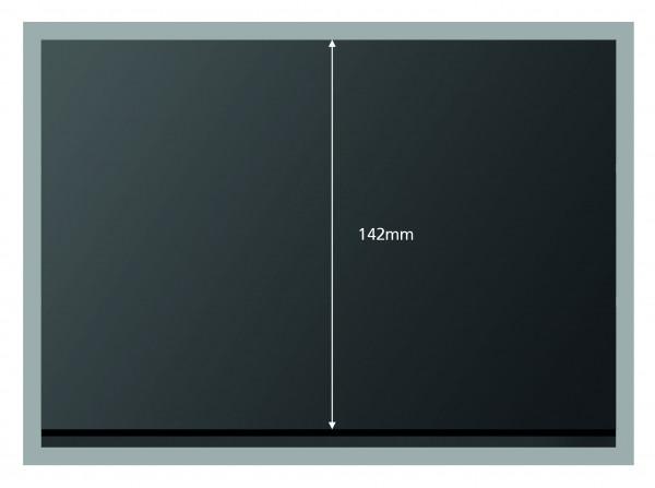 Prinz-System Steckkarten, 1 - 5 Streifen, schwarz, 210 x 148 mm, 50 Stück