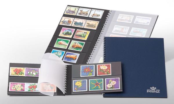 Einsteckbuch Skyline Sliver, 5 Streifen à 157 x 40 mm,