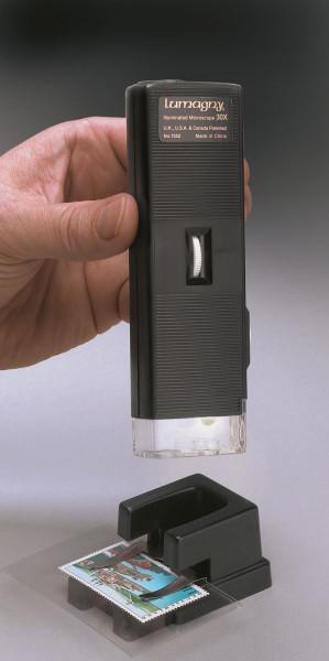 Taschen-Mikroskop mit Beleuchtung, 30x