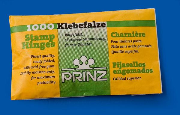 PRINZ-Klebefalze