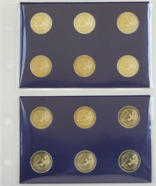 EURO-Münzhüllen