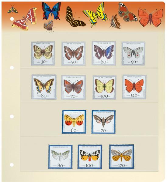 PRINZ Motiv-Blankoblätter, Schmetterlinge