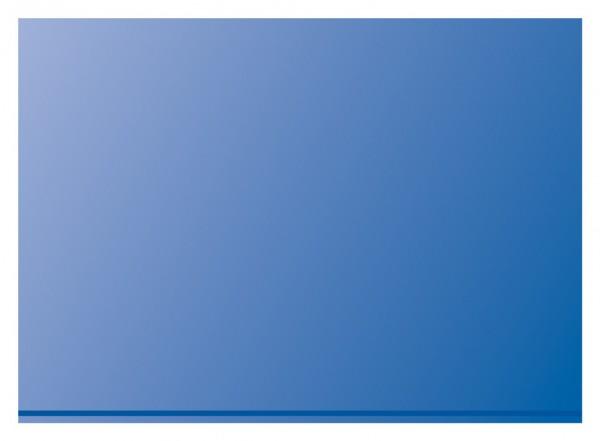 Prinz-System Steckkarten, 1 Streifen, blau, 156 x 112 mm, 1 Polyesterstreifen, 100 Stück