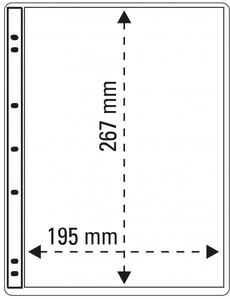 ProFil Albenblätter, transparent