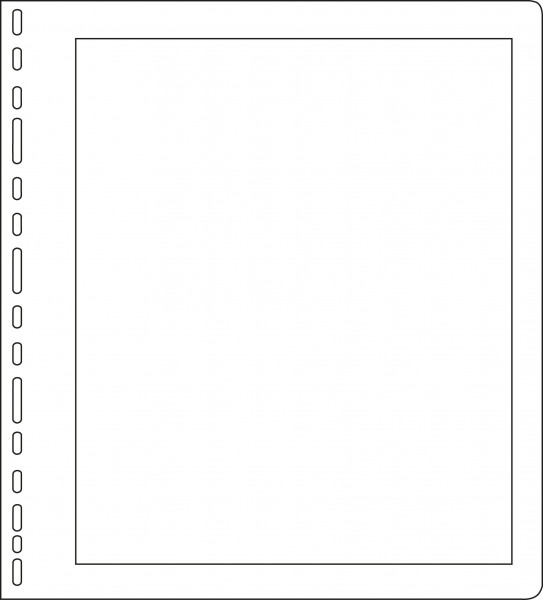 Universallochung mit Rahmen, 267 x 295 mm, 25 Stück