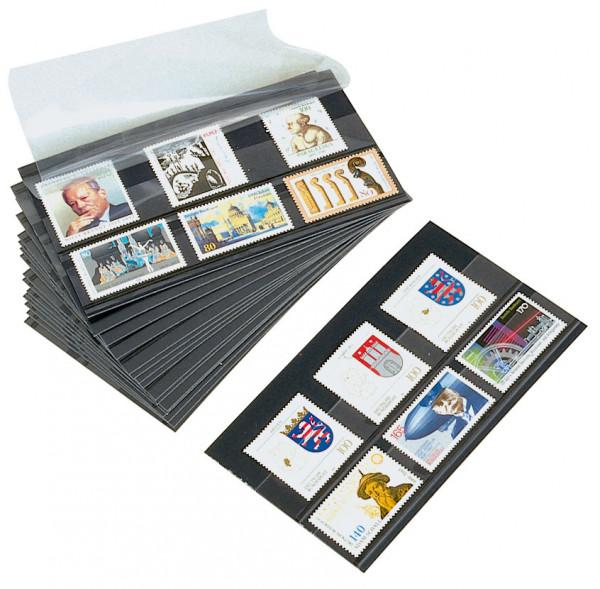 Prinz Auktions-Steckkarten, 148 x 84 mm, 2 Streifen, 100 St.