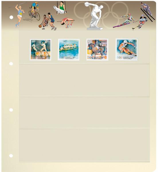 PRINZ Motiv-Blankoblätter, Olympische Spiele