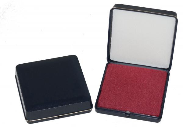Patent-Etui 40 x 40 mm blau/rot