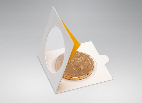 25 Stück selbstklebende Münzklappen