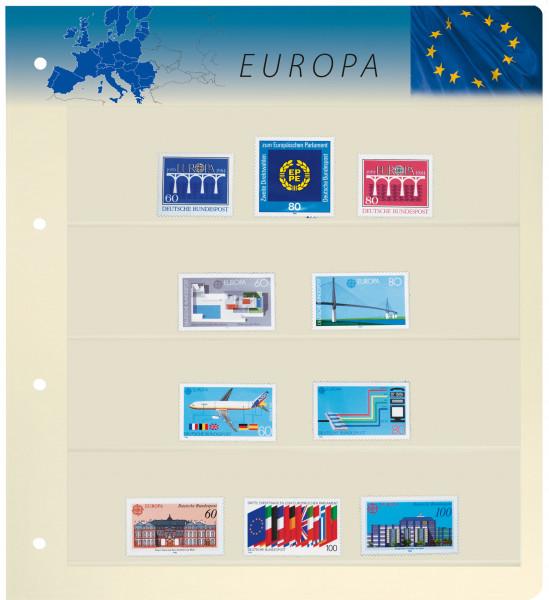 PRINZ Motiv-Blankoblätter, Europa