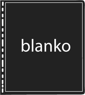 TEXAS Albenblatt, ohne Rahmen als Blankoblatt