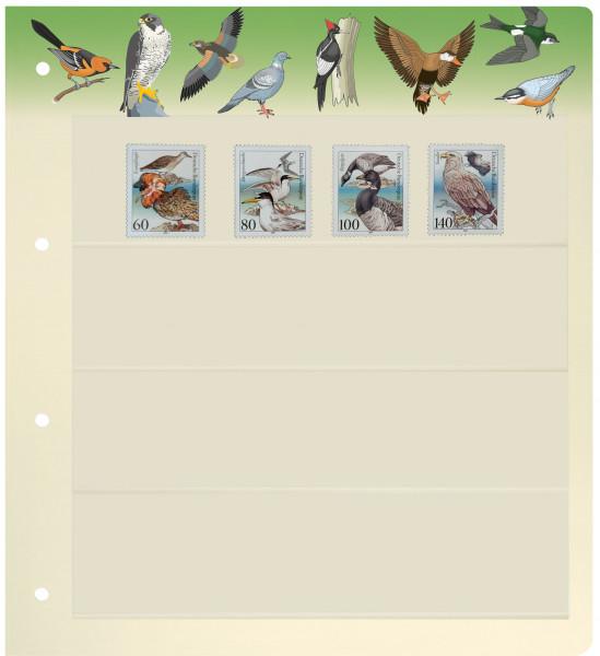 PRINZ Motiv-Blankoblätter, Vögel