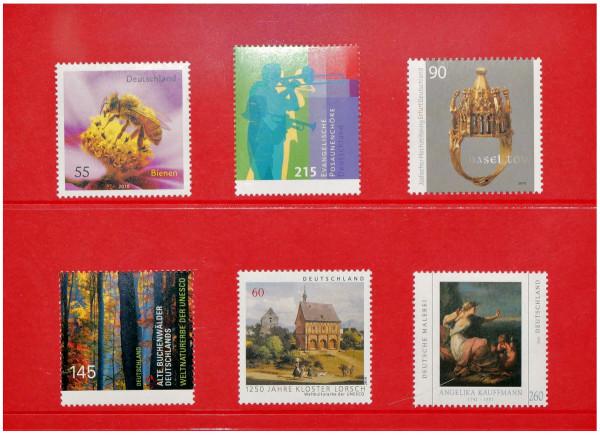Prinz-System Steckkarten, 2 Streifen, rot, 156 x 112 mm, 2 Polyesterstreifen, 100 Stück